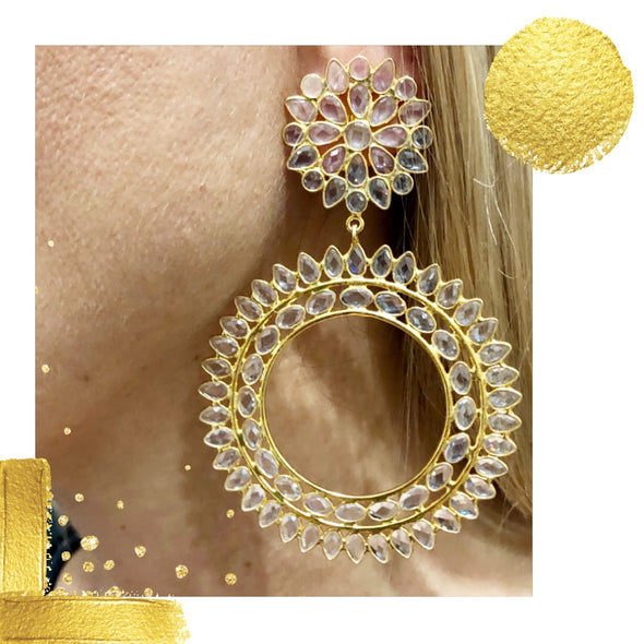 Ludovica Gold Hoops