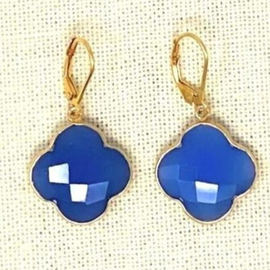 Candy Clover Blue Chalcedony