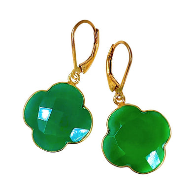 Candy Clover Green Onyx