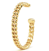 Curb Chain Gold Cuff