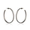 Anastasia Oxidized Hoops
