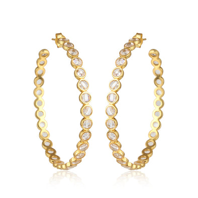Anastasia Gold Hoops