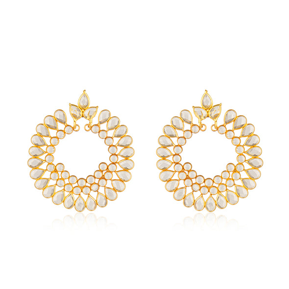Chloe Gold Earrings | Valentine Rouge | Toronto, Canada