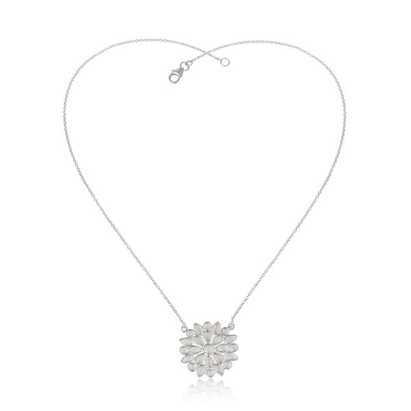 Clarissa Silver Necklace