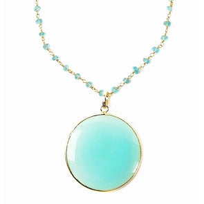 Harmony Chalcedony Necklace