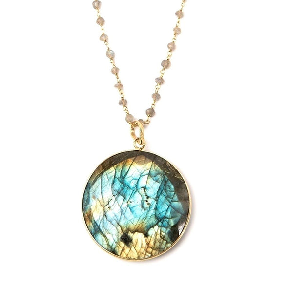 Harmony Labradorite Necklace