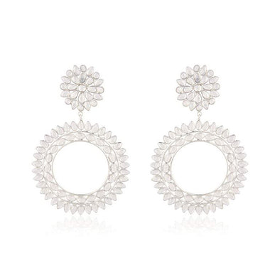 Ludovica Silver Hoops