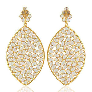 Simona Gold Earrings