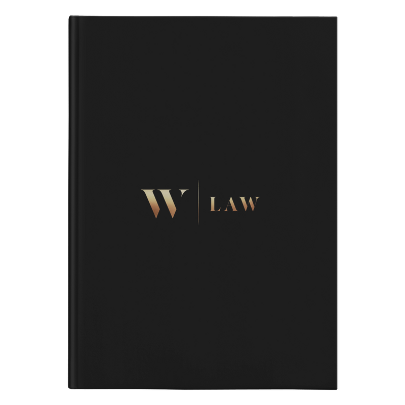 W Law Hardcover Journal