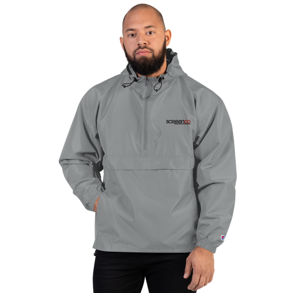 Screenco Embroidered Champion Packable Jacket