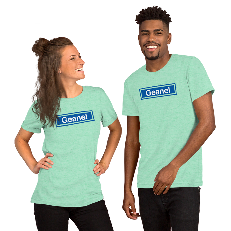 Geanel Short-Sleeve Unisex T-Shirt