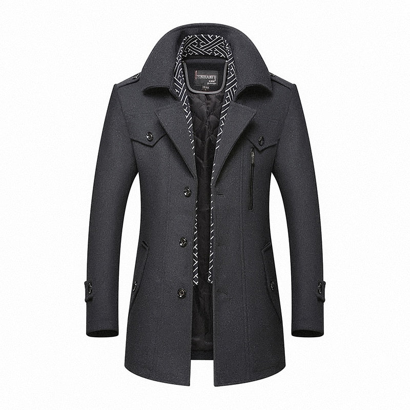 BOLUBAO Winter Wool Coat