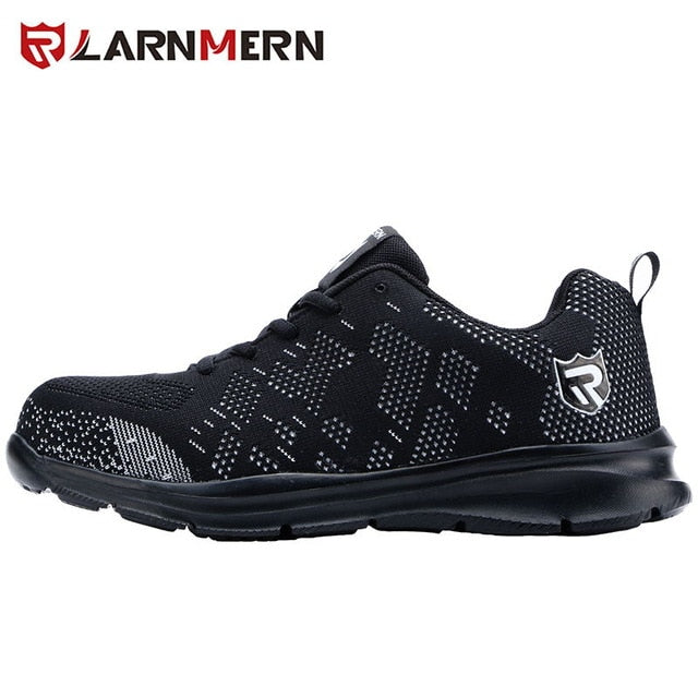 LARNMERN Steel Toe Work Boots Shoes