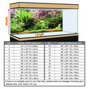 Custom Size Aquarium Background Poster With Self-Adhesive Water Plants PVC Fish Tank Decoration Accessories Landscape Wallpaper