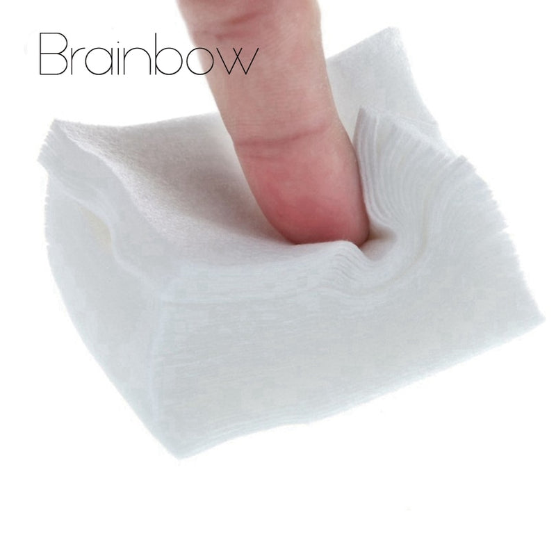 Brainbow 100pcs UV Gel Nail Polish Remover