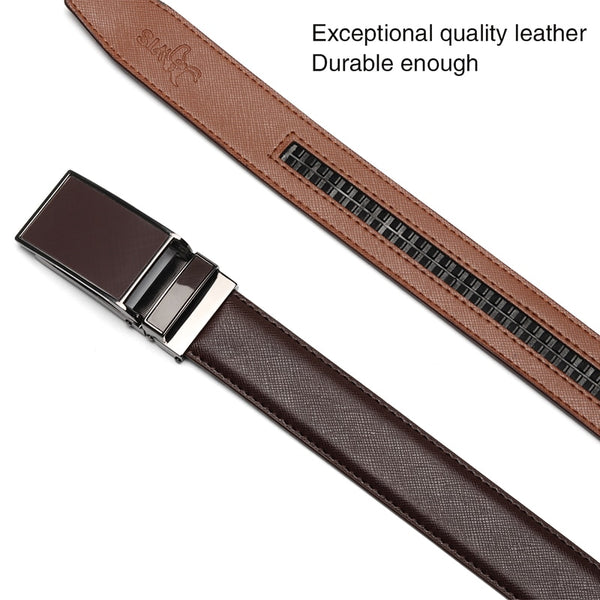 Leather Click Belt