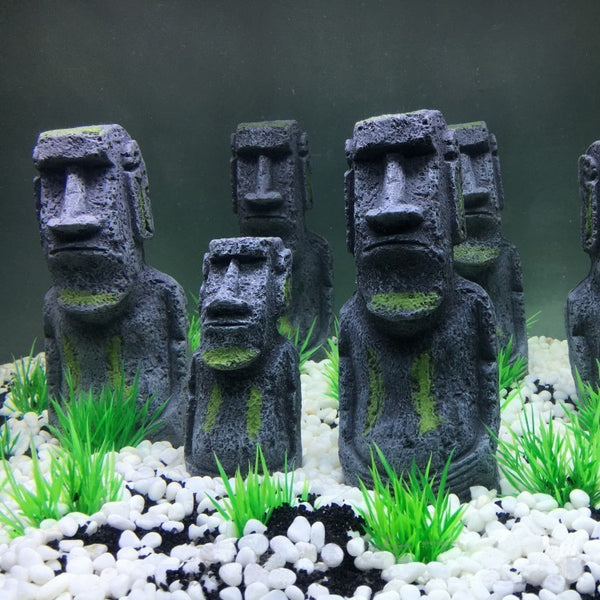 Mr.Tank 2pcs The Easter Island Statue