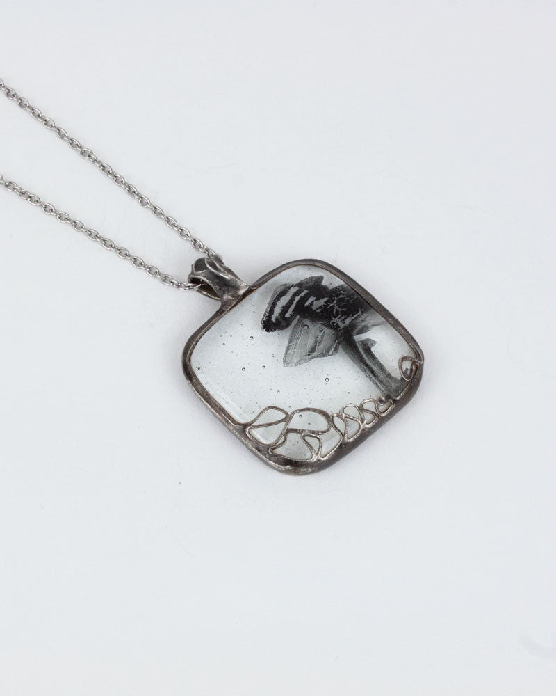 Pendentif / Collection nature / Transparence