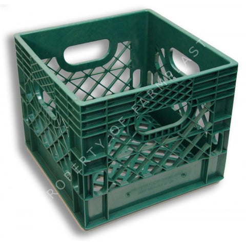 Green Square Milk Crate