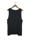 #21 Sleeveless Tee, Black Wash