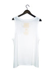 #21 Sleeveless Tee, Milk Wash