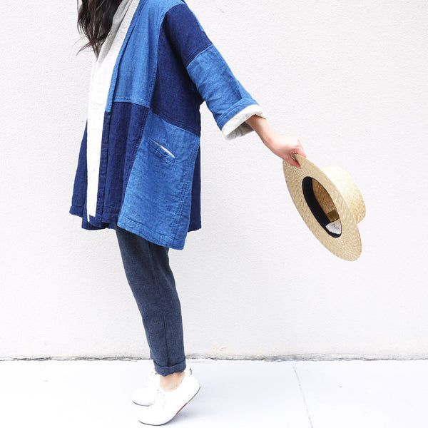 Haori Coat, Patchwork