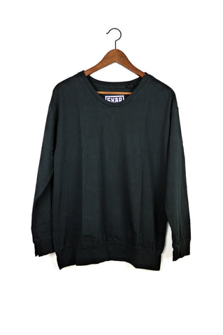 #88 Sweatshirt Tee, Black Wash