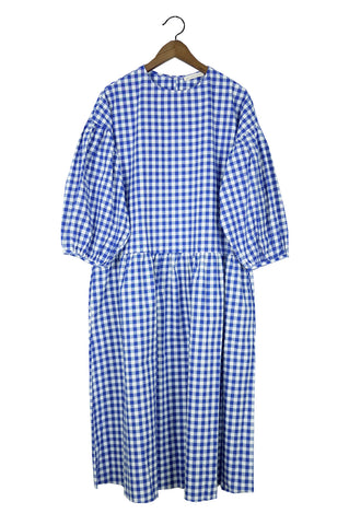 May Dress, Blue Gingham