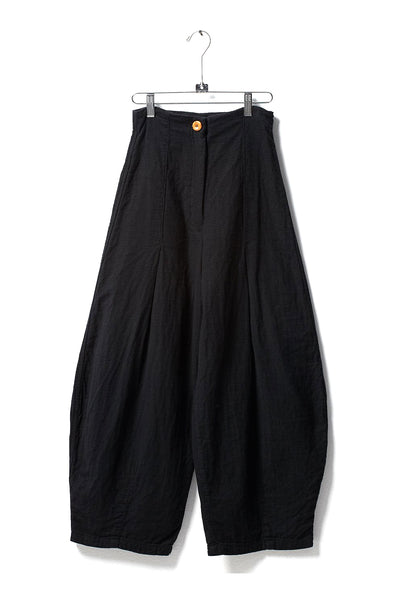 Haldia Pant, Black, Cotton