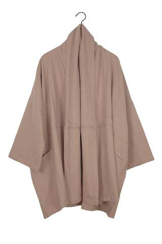 Antwerp Coat, Mauve Taupe, Cotton Wool Blend