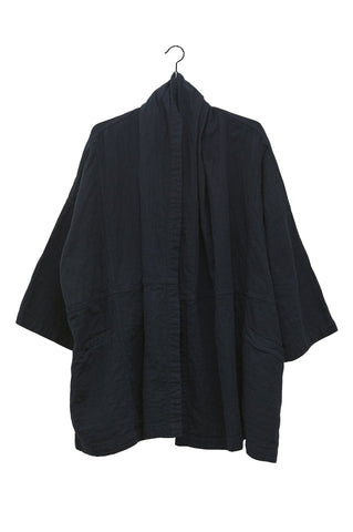 Haori Coat, Midnight, Cotton