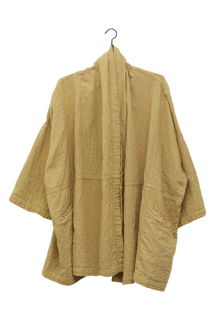 Haori Coat, Dune, Cotton