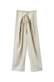 Parachute Pant, Cream, Cotton Wool Blend