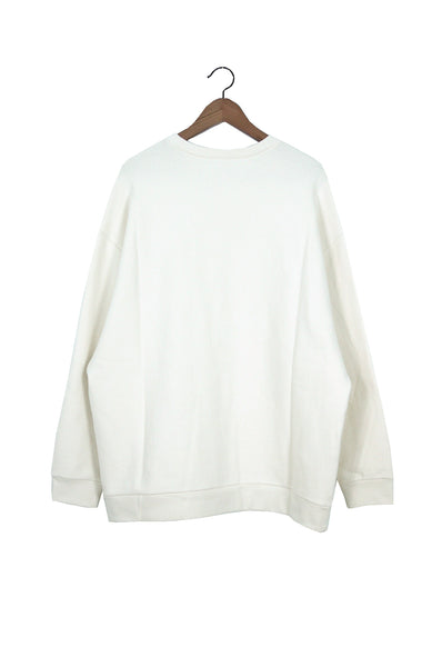 Classic Sweater, Off White, Japanese Cotton