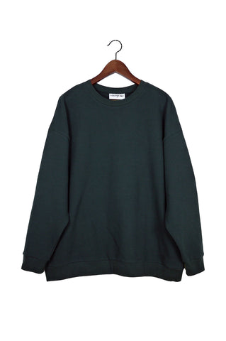 Classic Sweater, Caviar, Japanese Cotton
