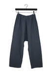 Charcoal Coarse Cotton Pants