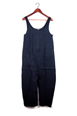 Gary Jumpsuit, Black, Washed Linen