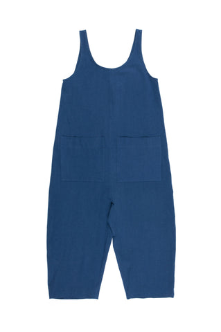 Gary Jumpsuit, Dark, Cotton Linen