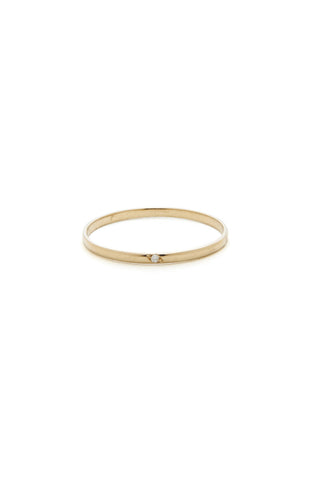 Freckle Ring, 14K Yellow Gold