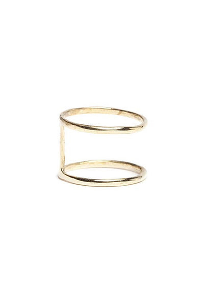 Spacer Ring in Bronze by In God We Trust NYC