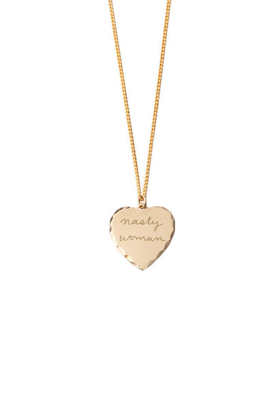 "Sweet Nothing Necklace 18"", Nasty Woman"