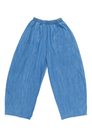 Abe Pants, Faded Denim, Cotton