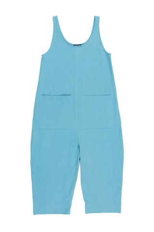 Gary Jumpsuit, Surf, Cotton Linen