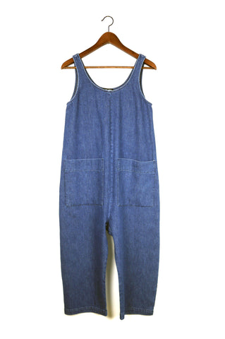 Gary Jumpsuit, Lightweight Denim, Cotton