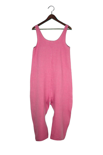 Gary Jumpsuit, Rose, Washed Linen