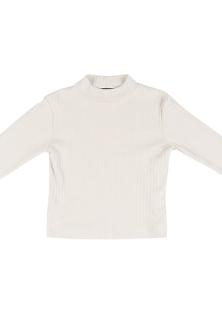 Georgie Shirt, Toast, Ribbed Jersey