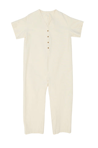 Henry Coverall, Natural, Cotton Canvas