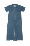 Mabel Coverall, Denim, Cotton