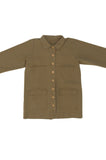Mabel Jacket, Umber, Cotton Canvas