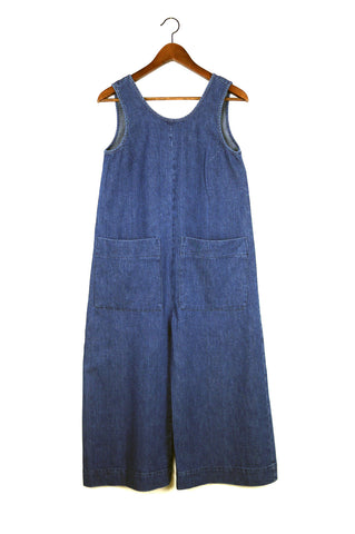 Milo Jumpsuit, Lightweight Denim, Cotton